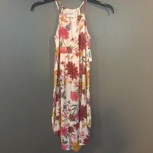 Old Navy Girls Flora High Neck Maxi Dress Large